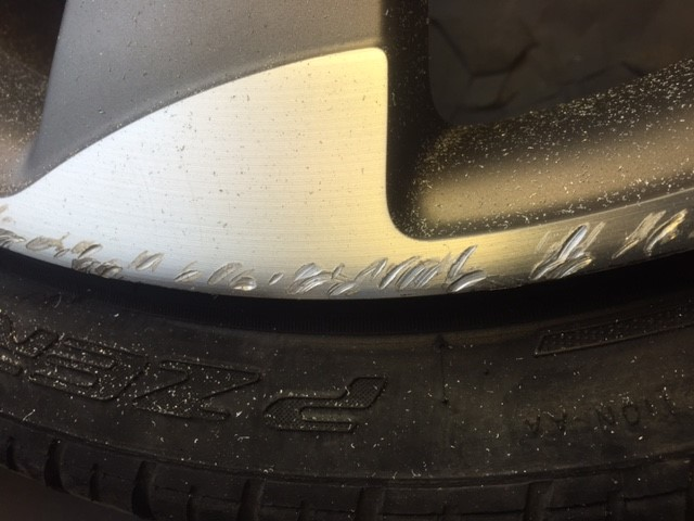 Alloy wheel repair Telford