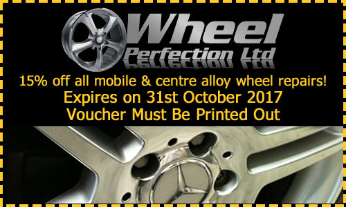 15 off all mobile alloy wheel repairs May.1